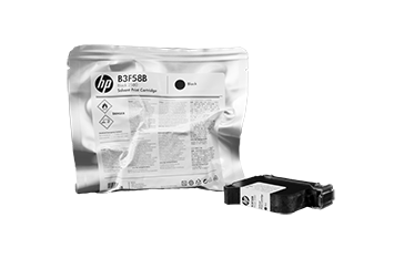 HP 2580 Solvent Black Ink Cartridge