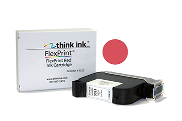 FlexPrint Red Ink Cartridge